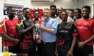 Panafrican/Komatsu Commits To Rugby Development in Ghana