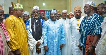 Bawumia Visit To Konongo Zongo Historic—Municipal Chief Imam