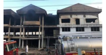 Fire Destroys Furniture Shop At Sakaman