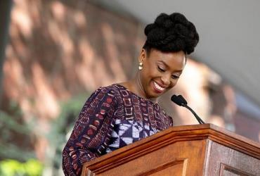 Chimamanda Adichie joins Bill Clinton, Mother Teresa and Christiane Amanpour as the first African to address the Harvard University Day Speech