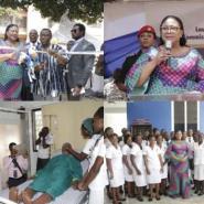 First Lady Rebecca Inaugurates Health Training Facilities