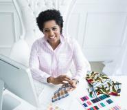 Nina Baksmaty On Stitching The Royalty Collection For KoshieO