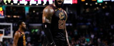 Dazzling LeBron James Carries Cavs Past Celtics And Into NBA Finals