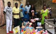 Actress, Tonto Dikeh helps woman Abandoned by Husband