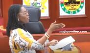 Controversial $89m Kelni GVG Contract: NPP MPs Abandon Ursula Owusu In Parliament
