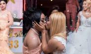 Tonto Dikeh, Bobrisky Set Social Media On Fire After Kissing Photo
