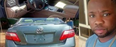 Yoruba Actor, Itele Celebrates End of Ramadan with New Toyota Camry