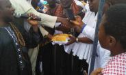 Vice President donates 1000 bags of cement to Muslims in Prestea