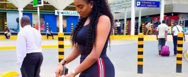 Actress, Chika Ike now in Kenya on another Vacation