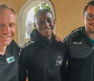 Tony Yeboah's Son Kelvin Signs One-Year Deal With German Side WSG Wattens