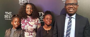 Kwesi Nyantakyi's Wife, Children Pop Up