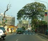 Freetown, the capital town of Sierra Leone