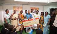 Zylofon Cash sponsors Akwamuman SHS Drama Club with $10,000.00  to South Africa