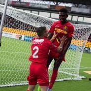 Godsway Donyoh Scores As FC Nordsjaelland Thump Nykøbing FC