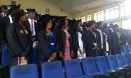 Graduates at the Congregation