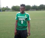 NER midfielder Gershon Koffie joins Black Stars for the first time