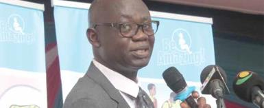 Prof. Opoku-Amankwa, Director General of Ghana Education Service