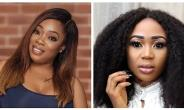Rosemond Brown kneels to apologize to Moesha on Red Carpet at Golden Movie Award