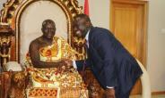 NPA Boss Visits Asantehene