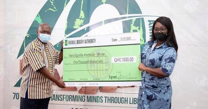 Ghana Library Authority Awards Winners Of The National Short Story Writing Challenge