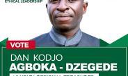 Daniel Agboka-Dzegede For NDC Volta Regional Treasurer Position