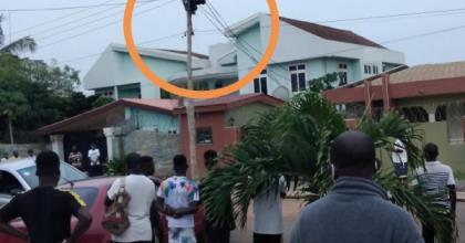 Electrician Electrocuted In Tema Sakumono Estate