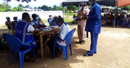 Dormaa East: EC Lauded For A Well Organised, Incident-Free Voter Registration Exercise