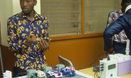 Electrical & Electronic students of Sunyani Technical University exhibit prowess