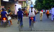 Right to road must first go to pedestrians, non-motorised vehicles