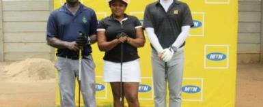Dickson, Tei Shine In MTN CEO Invitational Golf Tourney