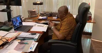 Akufo-Addo Holds Online Meeting With His 2020 Campaign Communications Advisory Team