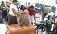 LDS Charities Handover 270 Wheelchairs To GHS