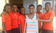 Black Princesses Team Visit Injured Striker Priscilla Adubea