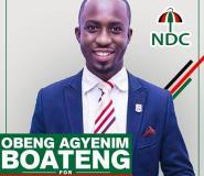 Agyenim Boateng To Contest B/A NDC Deputy Youth Organiser Position