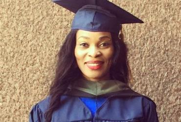 Actress, Georgina Onuoha Graduates with a Master Degree in Healthcare Sciences