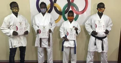 Six Karatekas Rewarded After Online Kata Competition