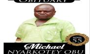 Michael Nyarkotey Obu Goes Home On September 08