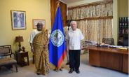 Ambassador Smith Presents Letter Of Credence To Acting Governor General Of Belize