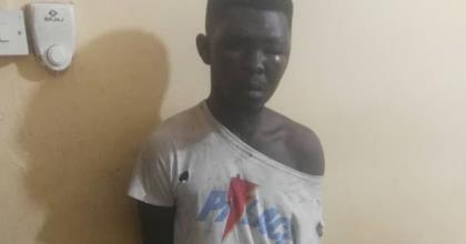 Awudome Cemetery Robber Hiding In Empty Grave Grabbed