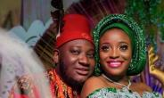 Comedian, Ajebo in Tears as he Weds Long-time Lover, Uchechi Kalu