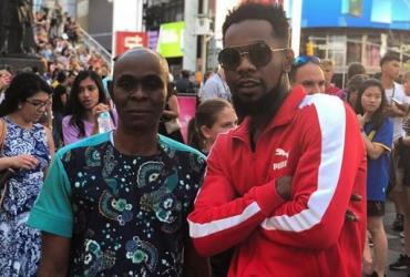Singer, Patoranking goes on Vacation with Father in the US