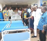 Carlos Ahenkorah Donates Hospital Beds, Incubators On His Birthday