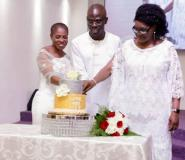 "Social Media Goes ""Gaga"" Over Albert Ocran's 50th birthday party, 25th wedding anniversary Snapshots"