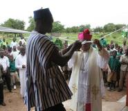 Bishop Hands Over Three Unit KG Block, Office Complex To St. Peters' In Daboya