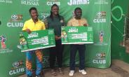 "Accra Breweries Rewards 6th and 7th ""Charlie Won Shi Jama"" Promo Winners"