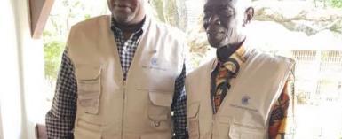 Former Prez Mahama with Dr. Afari Gyan