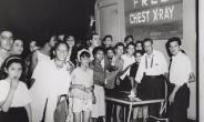 Testing community members for tuberculosis in Brooklyn, New York, in 1960