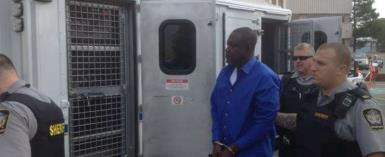 Thomas Aboagye Acheampong was arrested Monday at Halifax Stanfield International Airport