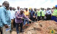 Akufo-Addo Cuts Sod For K'si Roads Facelift Project