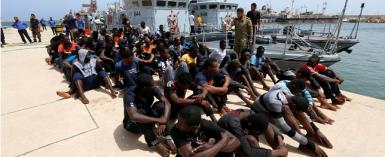 Italy Brings Migrants Back To Libya